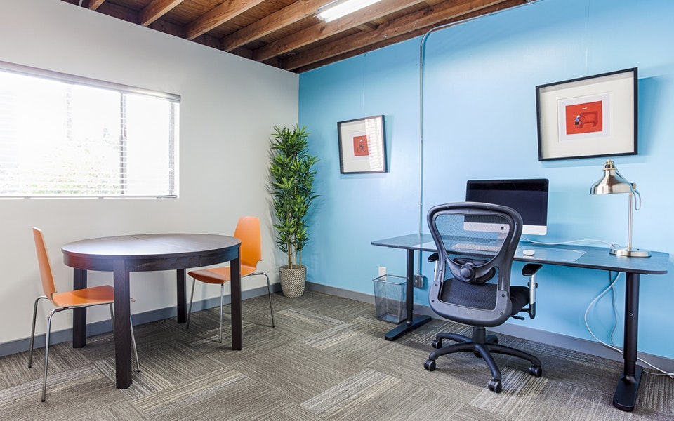 Large Private Window Office