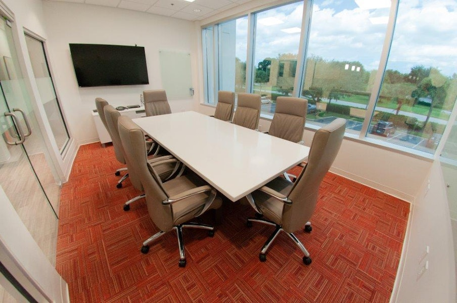 Conference Room with Window