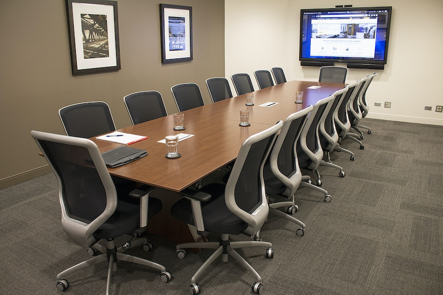 Expansive Boardroom w/ Full Amenities Available