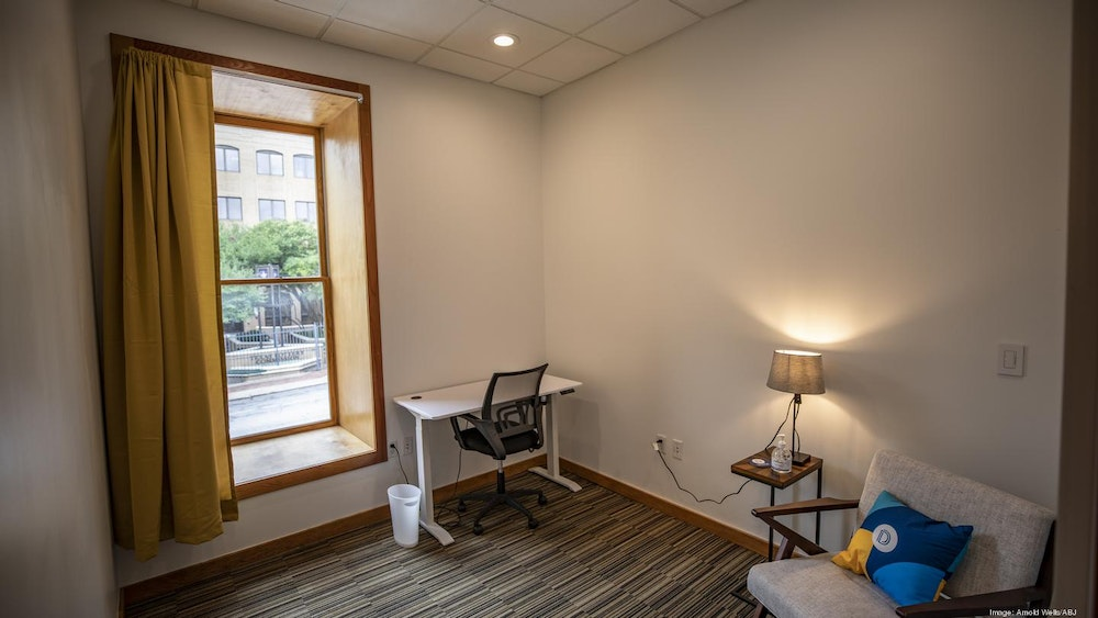 Hourly Private Office w/ 6th Street View