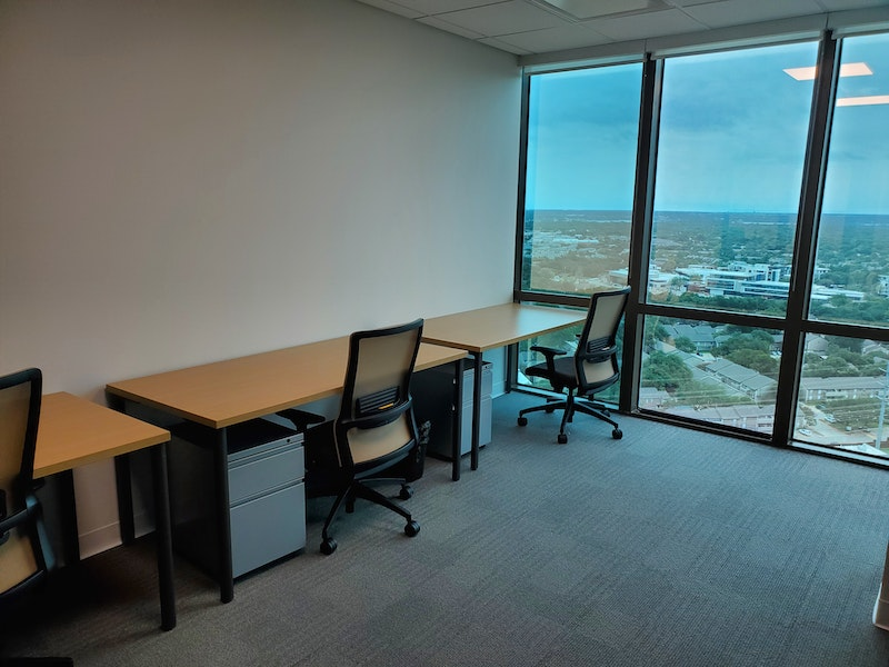 Private Window Office - Accommodates 5