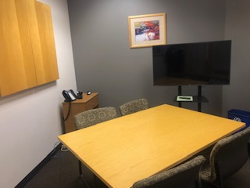 Small Conference Room with Monitor