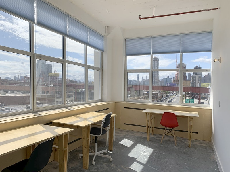Private Office with Large Windows
